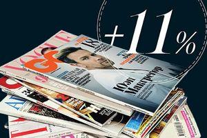 Рост аудитории журналов Condé Nast Россия